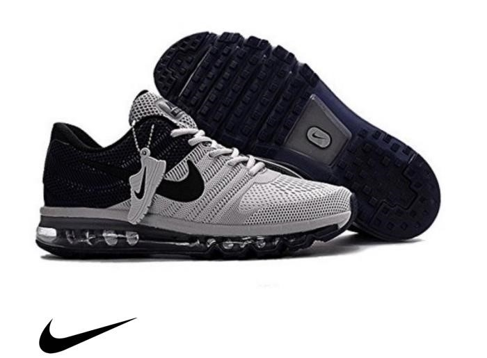 Nike Air Ma Trainers Running Enormous Shoes black Sneakers Mens Grey Shoes EKNORWX235