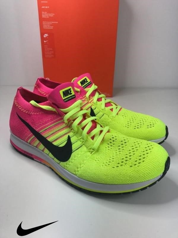 384df2b843ade BNIB NIKE FLYKNIT STREAK OC ZOOM YELLOW Men s Shoes RUNNING SHOES TRAINERS  Astonishingly BDFGHRV268