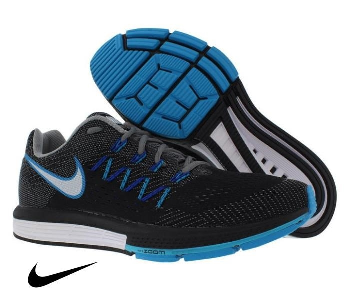 Nike Air Zoom Vomer Running Continuously Shoes Men\s Cool Shoes Lagoon Grey/White/Black/Blue CDEIMQUW38