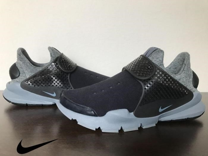 Nike Sock Dart Tech Fleece Black / Black-Cool Gra Cool Time-saving Gray Shoes Mens Black/Black ABFNPUYZ37